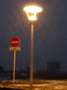 Controle électrique éclairage public
